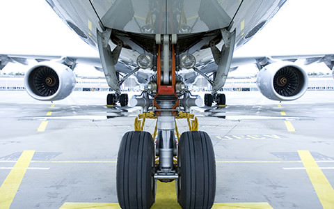 Airplane Landing Wheels