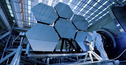 Beryllium Mirrors on the JWST