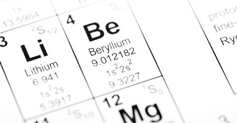 Beryllium Standard