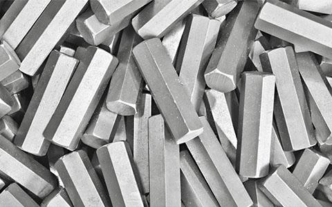Processed Beryllium Bars